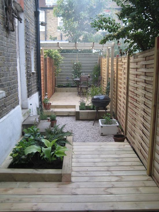 Landscaping Ideas For Long Narrow Backyard - Ztil News on Narrow Yard Ideas  id=47343