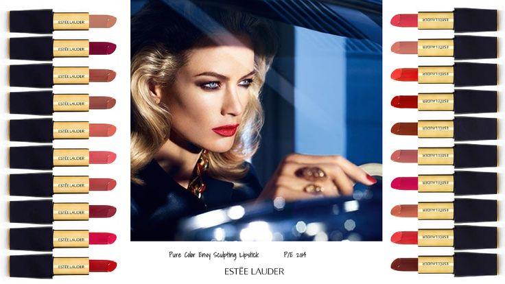 ESTEE LAUDER - Pure Color Envy Sculpting - Lipstick collection S/S 2014