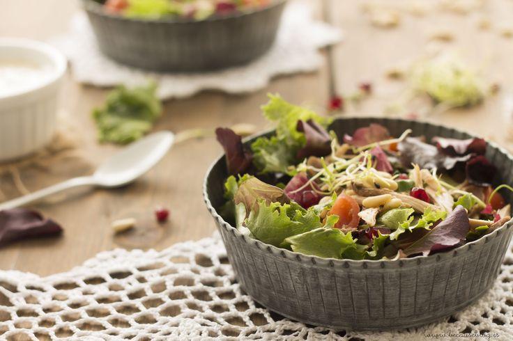 Enmimismada •  ensalada perdiz en escabeche