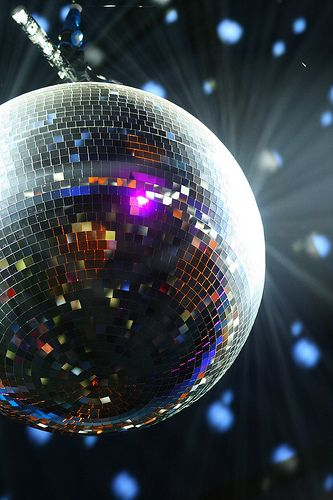 Sparkling Disco Ball -we had for Proms