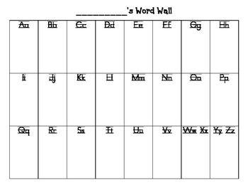 student word wall on word wall id=28078
