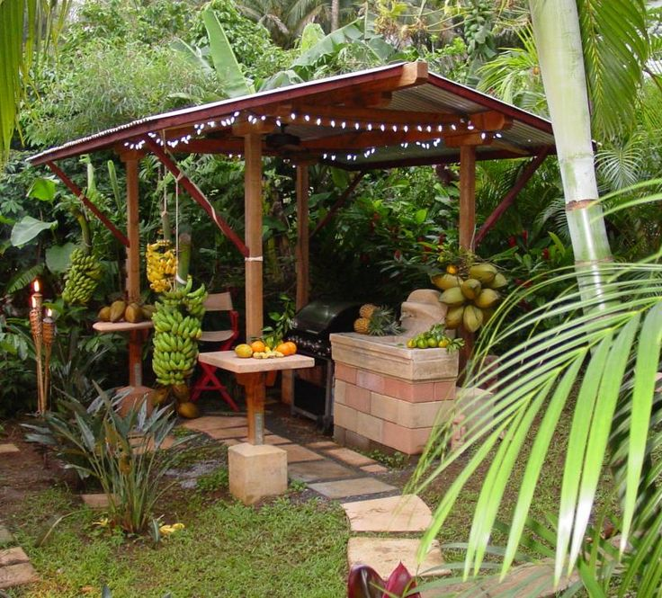 rustic outdoor kitchen yard and garden pinterest on outdoor kitchen yard id=72371