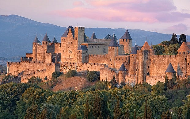 going here tomorrow, carcassone, france!