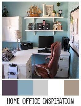home office color scheme home office pinterest on home office color schemes id=71027