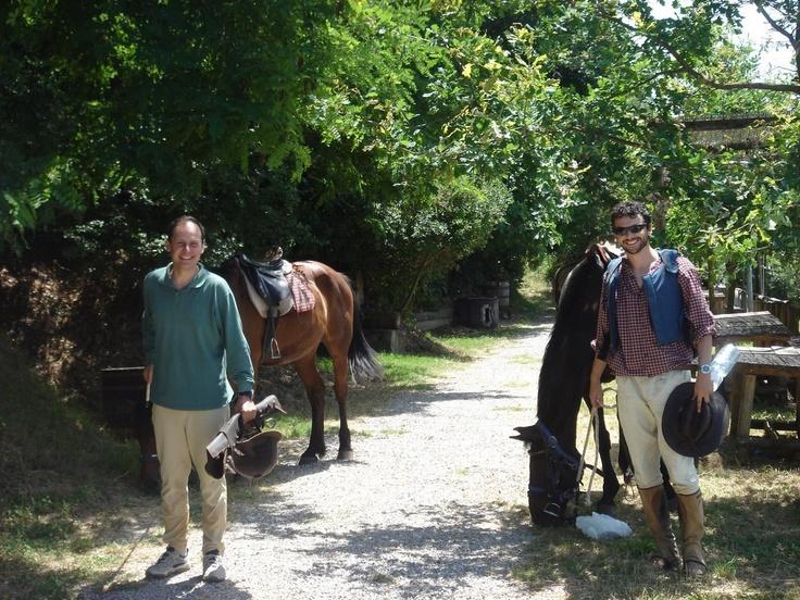 Passeggiate a cavallo, foto!  http://www.eatcookandlove.com/it/le-altre-attivita/lezioni-di-cavallo.html