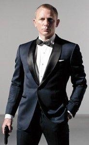 Navy Tuxedo - James Bond | Navy Blue Wedding