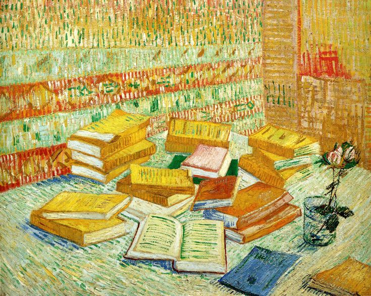 I'd never seen this painting before! I have a new favorite! by Vincent van Gogh (1853-1890)