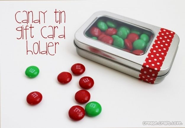 Caja para tarjeta con caramelos