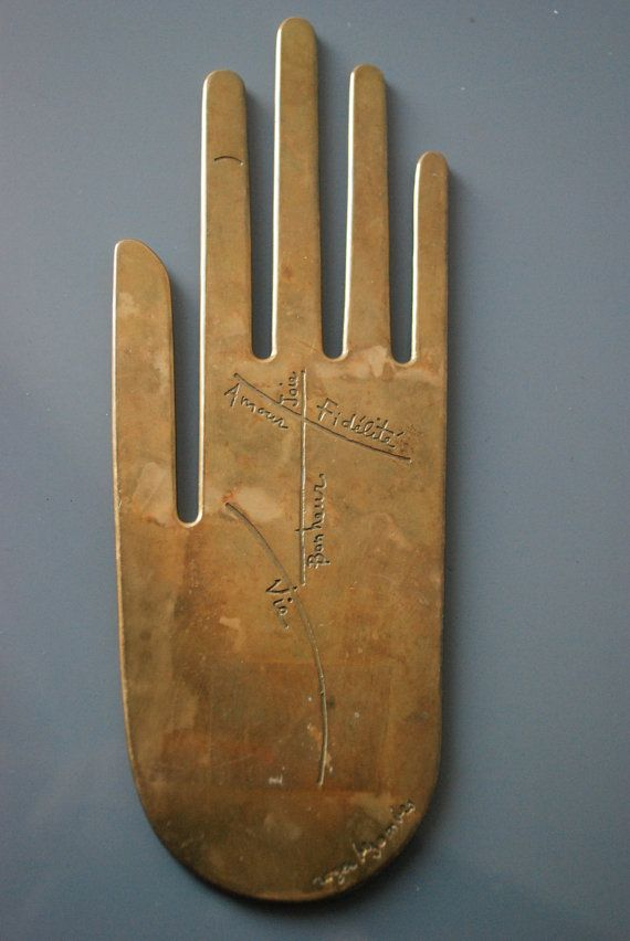 Modern Roger Bezombes Figural Bronze Hand