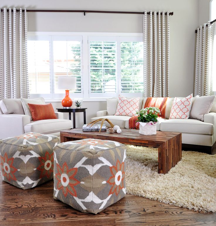 Arranging furniture: sometimes an angle may work. Interior design by Judith Balis,