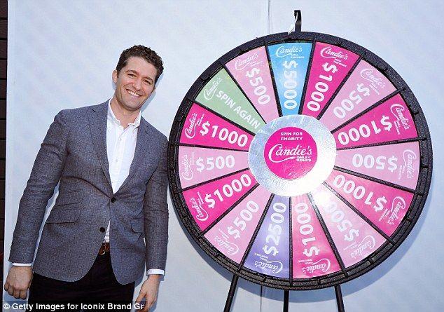 Actor Matthew Morrison (Glee)