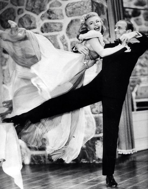 "Ginger Rogers: ""I did everything Fred Astaire did, but backwards, and in high heels.""."