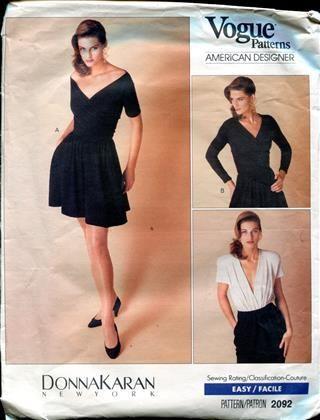 DK Vogue Pattern 2092