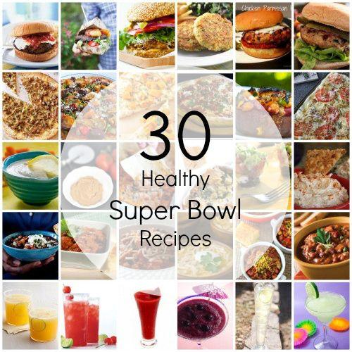 30 Healthy Super Bowl Recipes