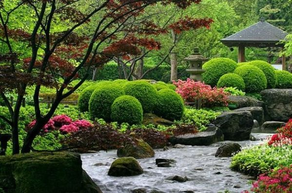 japanese garden design ideas for small spaces Beautiful Japanese Garden Design, Landscaping Ideas for