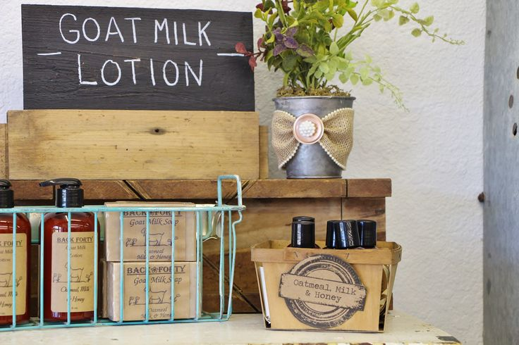 Visit www.reblessed.net to see why you should use goat milk products!
