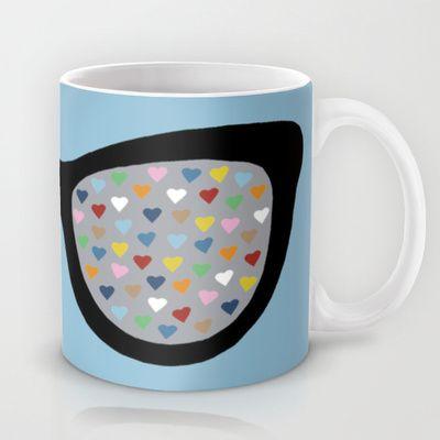 Heart Eyes Mug by Project M - $15.00