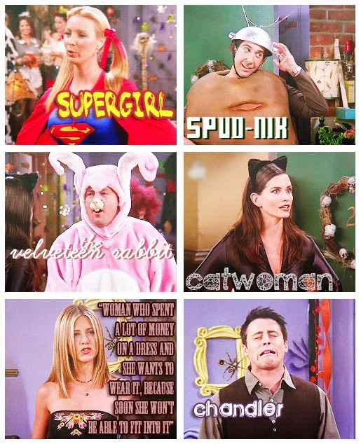 Everyone has a F.R.I.E.N.D. that dresses like this for Halloween!