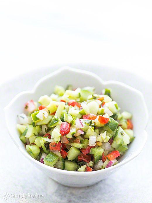 Confetti Cucumber Salsa