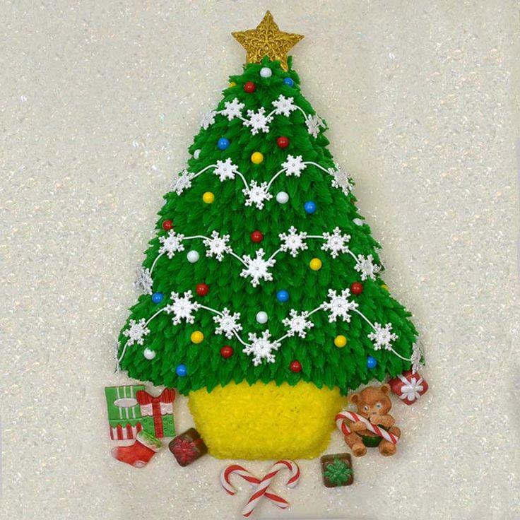 Plastic Tree Cake Decorations