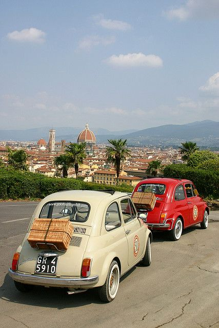 Touring Florence, Italy
