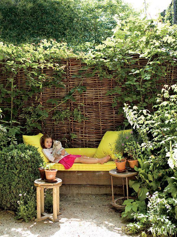 garden nook | Garden Ideas | Pinterest on Backyard Nook Ideas id=84316