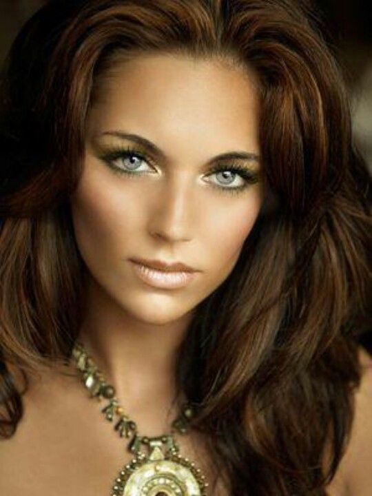 Hair Colors For Olive Skin And Blue Eyes