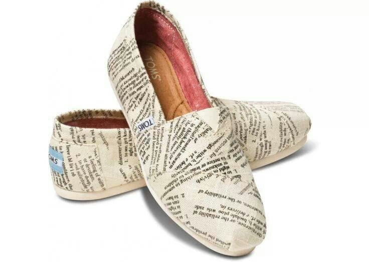 Bookish shoes, having my baby buy me these some day forsure