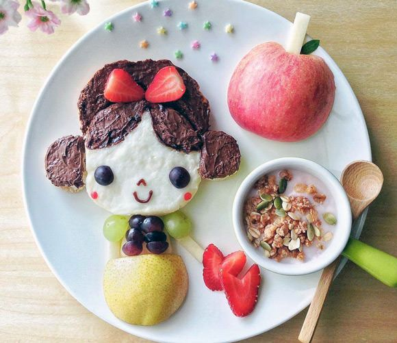 Instagram Foodie Samantha Lee (made to encourage her daughter to eat her food)