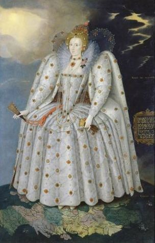 Queen Elizabeth I ('The Ditchley portrait'), by Marcus Gheeraerts the Younger © National Portrait Gallery, London