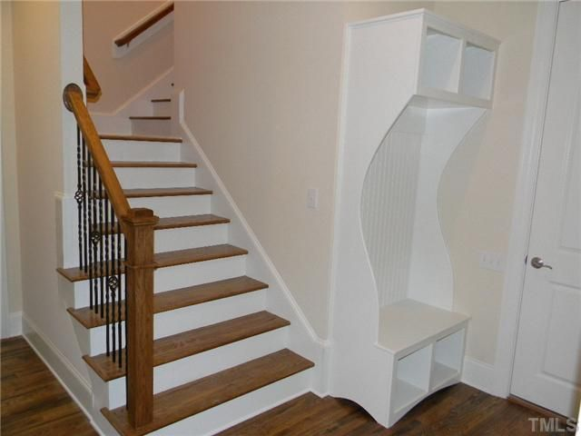 Stairs To Bonus Room Off The Garage.