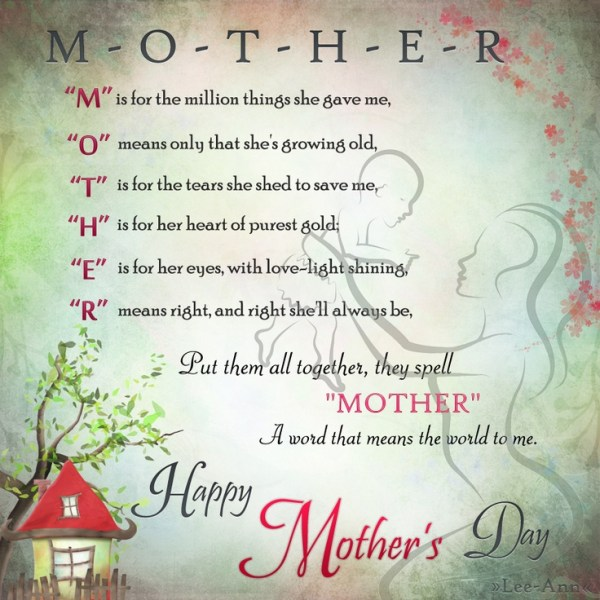 Happy Mother's Day ^_^ | Random Thoughts | Pinterest