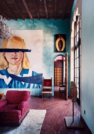 loveisspeed.......: Julian Schnabel's home Palazzo Chupi in NYC