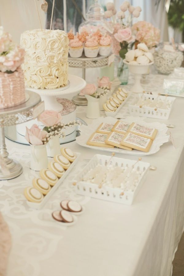 Wedding/ Shower dessert table