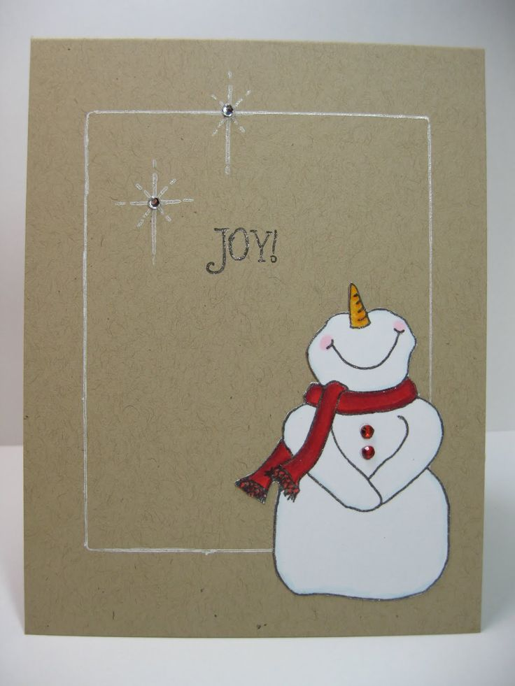 Christmas Card Im A Sucker For A Cute Snowman We Know