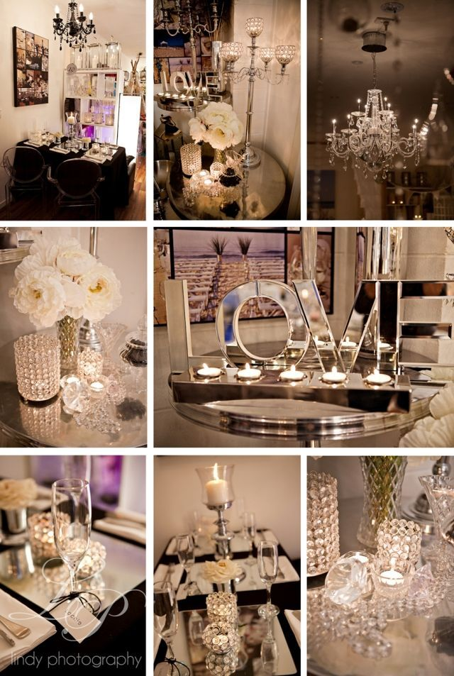 Boda estilo Glam Moderno con chandeliers de cristal y mucho bling - Lindy Photography Estilo y decoracion de Splash Events