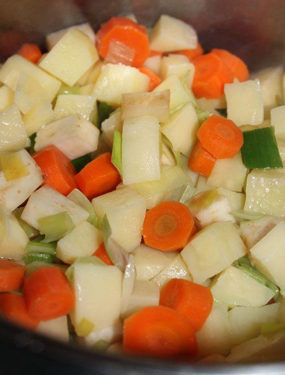 Zutaten Kartoffelsuppe