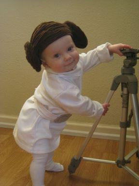 The Reno-Sparks Mom: Baby Princess Leia Costume