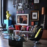 お宅訪問:デザイナーと写真家カップルのワン・ベッドルーム