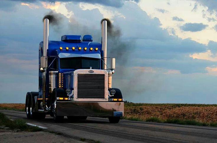 Image result for pics peterbilt blowing coal