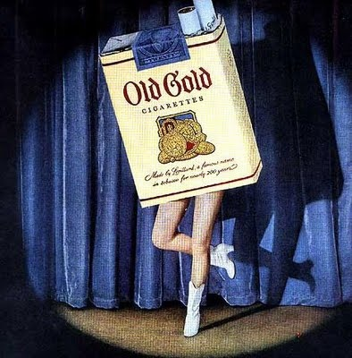 dancing                                                              cigarette pack                                                            ads