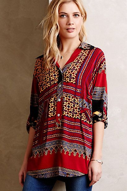 Dania Tunic - anthropologie.com #anthrofave