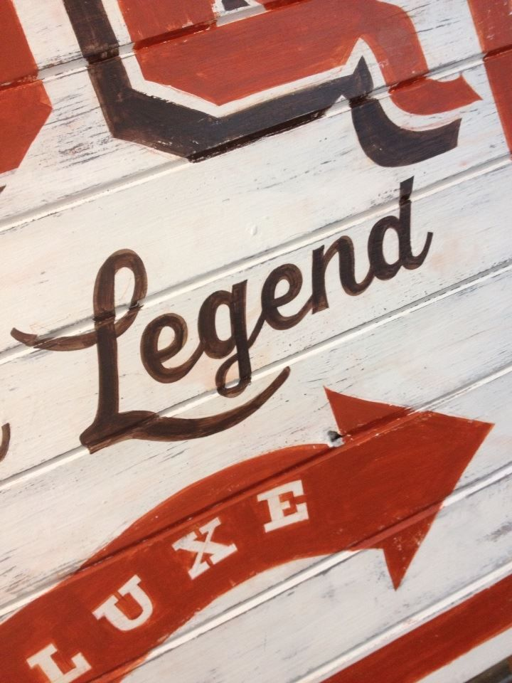 Legendary distressed originals - signwriters NGS of London