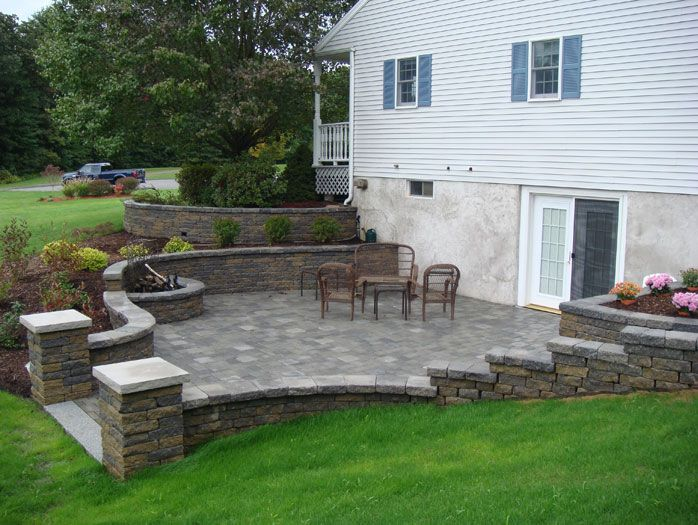 walkout basement connected to patio | Exteriors | Pinterest on Walkout Basement Patio Designs id=74997