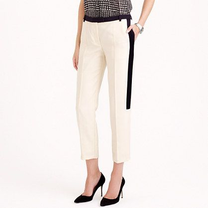 J.Crew - Collection cropped tuxedo pant