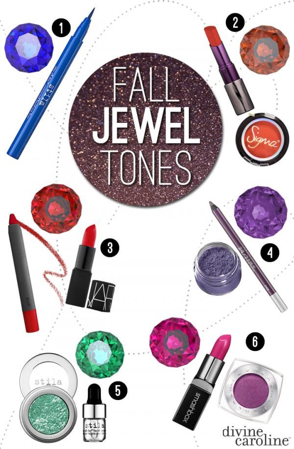 Fall 2013 Makeup Trends: Jewel Tones | Divine Caroline