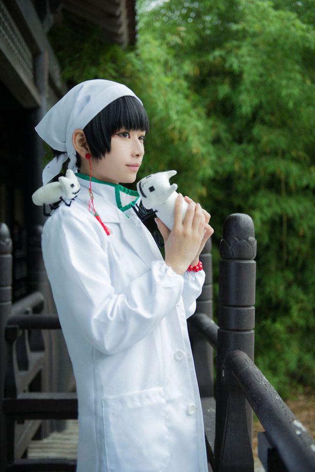 Hoozuki no Reitetsu Hakutaku Cosplay 2