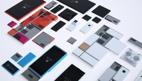 Prototype Smartphone modulable par Google : le Projet Ara.