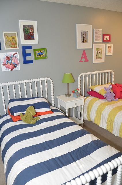 Would be easy to achieve similar for the girls room