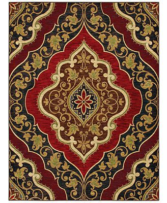 """Shaw Living Area Rug, American Abstracts Collection 20800 Andora Red 5' x 7'9\"""" i ORDERED THIS TODAY!!!  Gorgeous!!"""